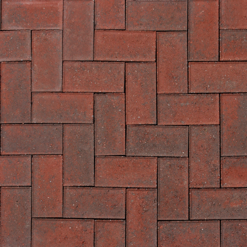 Holland Paver Red Charcoal